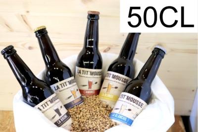 Les bières en 50CL
